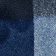 Pure Cashmere Checked Scarf, NAVY MIX, swatch