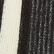 Striped Scarf, BLACK MIX, swatch