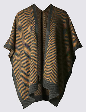 Herringbone Knit Wrap