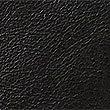 Leather Messenger Bag, BLACK, swatch