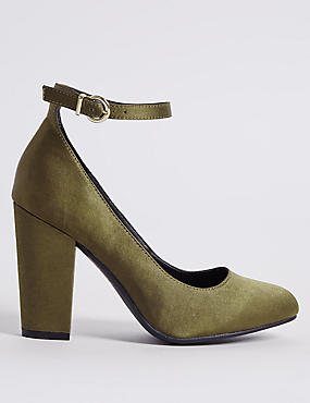 Ankle Strap Court Shoes