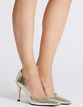 Stiletto Heel Court Shoes