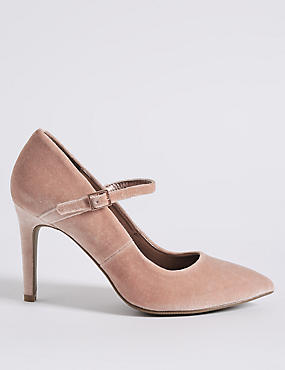 Stiletto Fine Strap Court Shoes