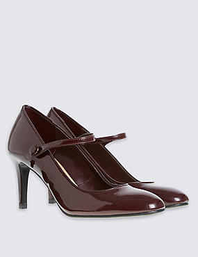 Dolly Patent Court Shoes with Insolia®