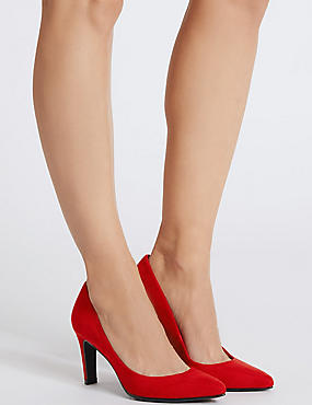 Stiletto Pointed Court Shoes