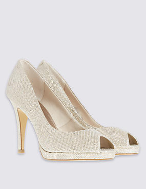 Peep Toe Stelitto High Heel Court with Insolia®