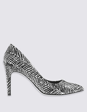 Stiletto High Pointed Court Shoes