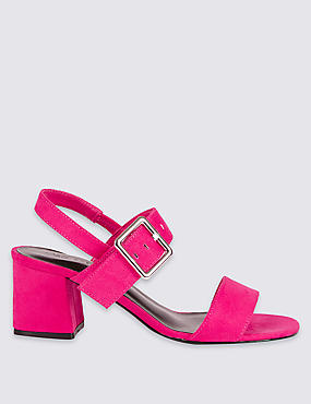 Block Heel Sandals with Insolia®
