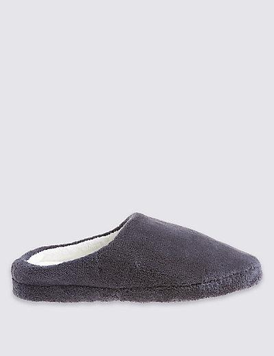 Micro Towelling Mule Slippers M S