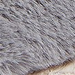 Faux Fur Toe Thong Mule Slippers, GREY MIX, swatch