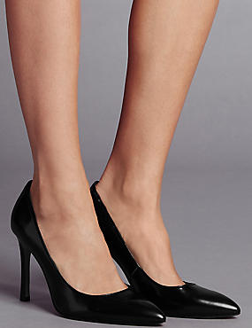 Suede High Heel Court Shoes with Insolia®