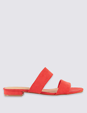 Two Band Mule Sandals