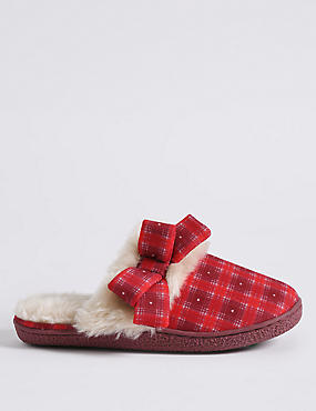 Fur Mule Slippers