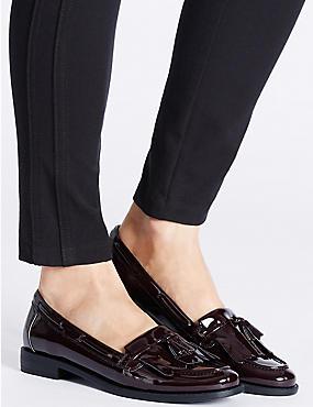 Tassel Loafers, WINE, catlanding