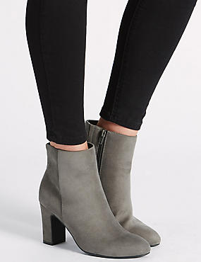 Clean Ankle Boots with Insolia®