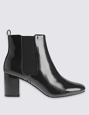 Wide Fit Chelsea Ankle Boots with Insolia®