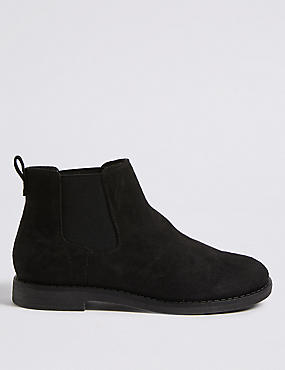 Extra Wide Fit Chelsea Ankle Boots