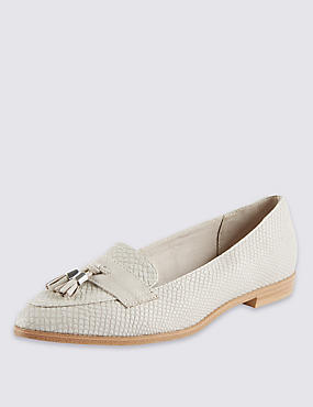 Almond Toe Tassel Loafers with Insolia Flex®