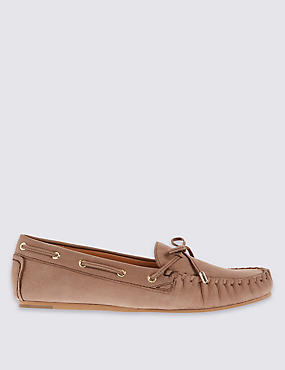 Flat Moccasin Loafers with Insolia Flex®