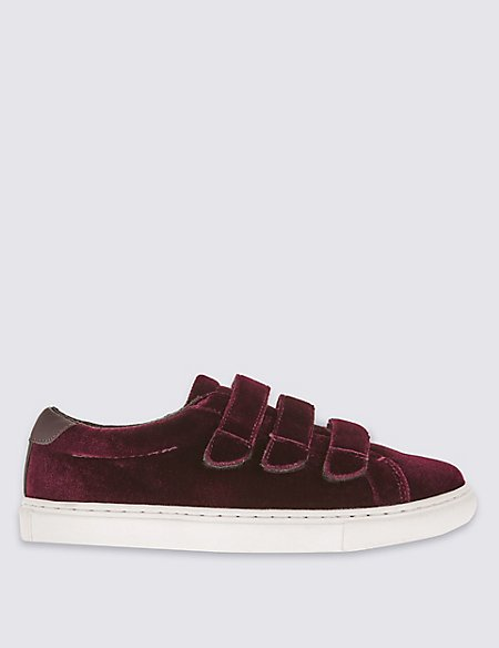 Velvet 3 Staped Trainers with Insolia Flex®