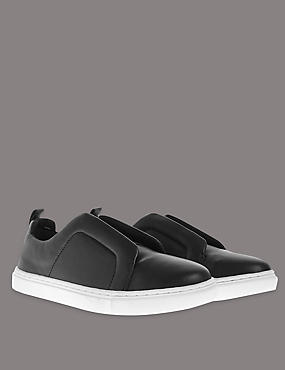 Slip-On Elastic Trainers with Insolia Flex®