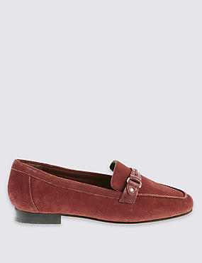 Suede Loafers with Insolia®