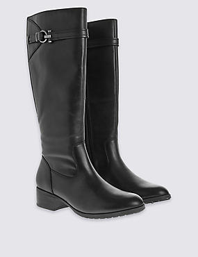 Leather Classic Knee Boots