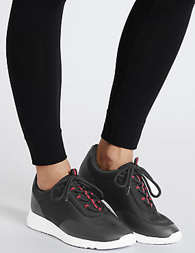 Lace-up Active Trainers