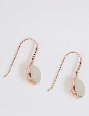 Sterling Silver Drop Earrings, , catlanding