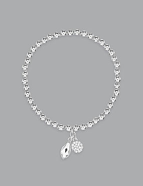Double Drop Bracelet MADE WITH SWAROVSKI® ELEMENTS