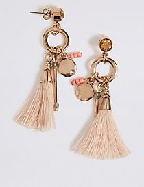 Charmy Tassel Drop Earrings