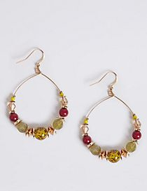 Pebbles Hoop Earrings
