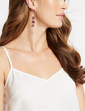 Mixed Berry Drop Earrings, , catlanding