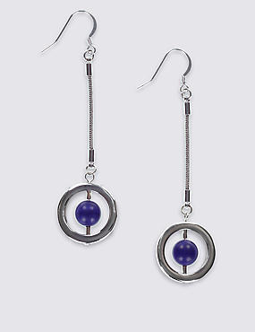 Graphic Ring Drop Earrings