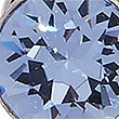 3 Pack Stud Earrings MADE WITH SWAROVSKI ELEMENTS, BLUE MIX, swatch