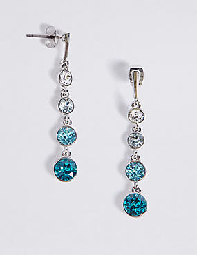 Sparkle Stone Drop Earrings MADE WITH SWAROVSKI® ELEMENTS