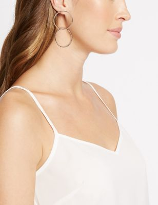 Double Hoop Earrings by M&S Collection