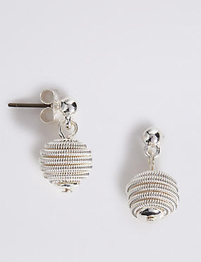 Snail Drop Earrings, , catlanding