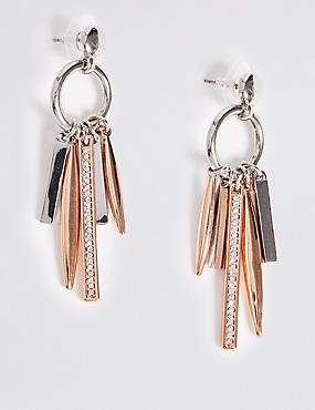 Multi Stick Drop Earrings