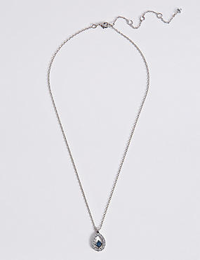 Floating Square Necklace MADE WITH SWAROVSKI® ELEMENTS