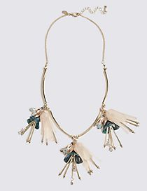 Pretty Garden Droplets Necklace