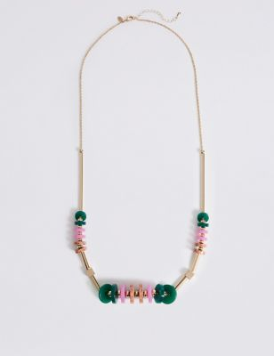Intense Colour Discs Necklace by M&S Collection