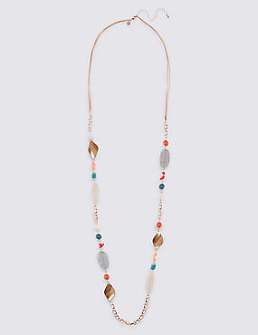 Twist Pearl Rope Necklace