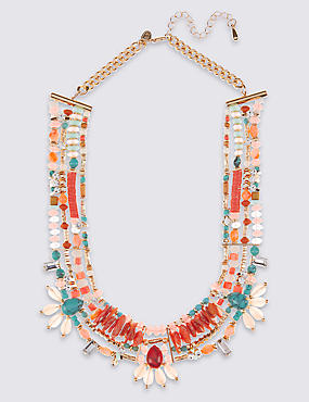 Sequin Collar Necklace