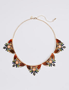 Resin Floral Necklace