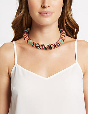 Tribal Collar Necklace, , catlanding