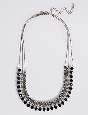 Glamour Rows Necklace