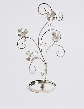 Flutter Butterfly Tree Jewellery Holder, , catlanding