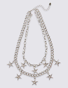Star Chunky Layered Necklace