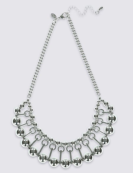 Galactic Metal Necklace